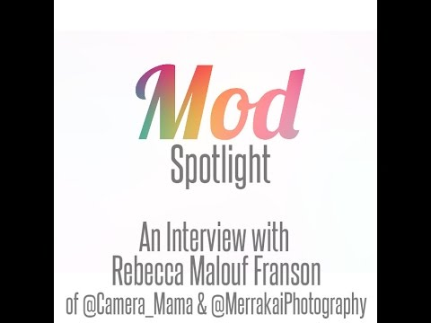 Mod Spotlight | An Interview with Rebecca Malouf Franson