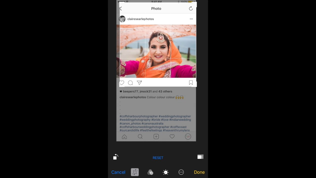 How to Repost a Photo on Instagram