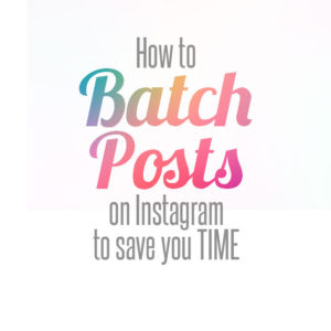 batch post to instagram