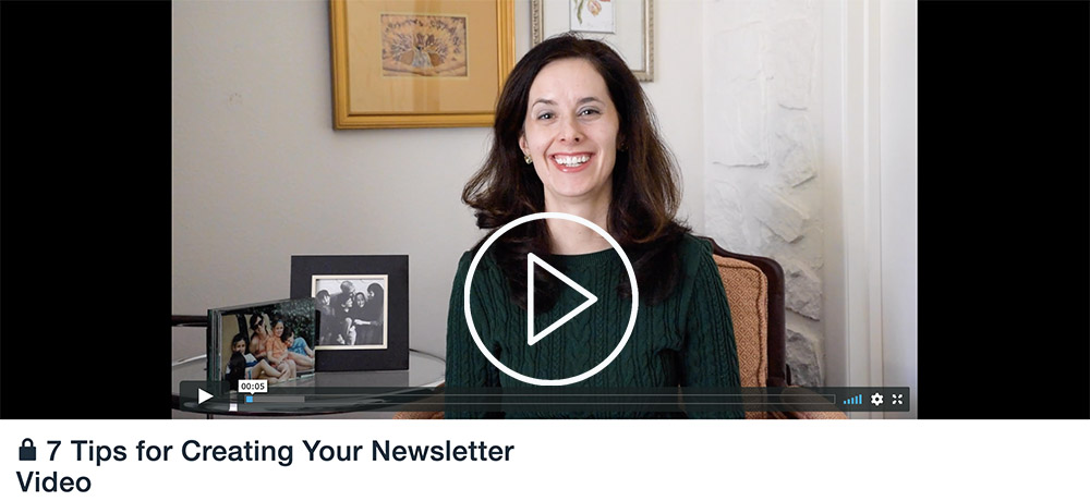 using video in emails to clients