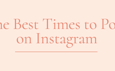 What (REALLY) is the Best Time to Post on Instagram? 2019